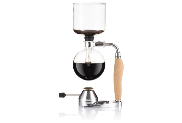 Bodum MOCCA Vakuum-Kaffeebereiter, 4 Tassen, 0.5 l mit Gasbrenner kork