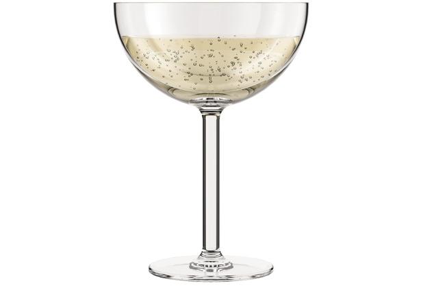 Bodum OKTETT 4 Champagner-Gläser, Kunststoff, 0,28l transparent