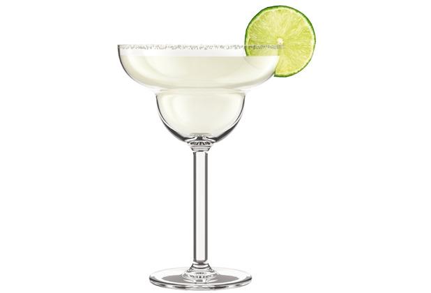 Bodum OKTETT 4 Margarita-Gläser, Kunststoff, 0,25l transparent