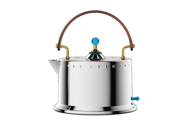 Bodum OTTONI Elektrischer Wasserkocher, 1.380 W, 1,0 l, Edelstahl verchromt