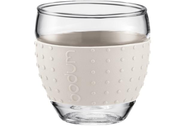 Bodum PAVINA 2 Stück Glas 0,1 l cremefarben
