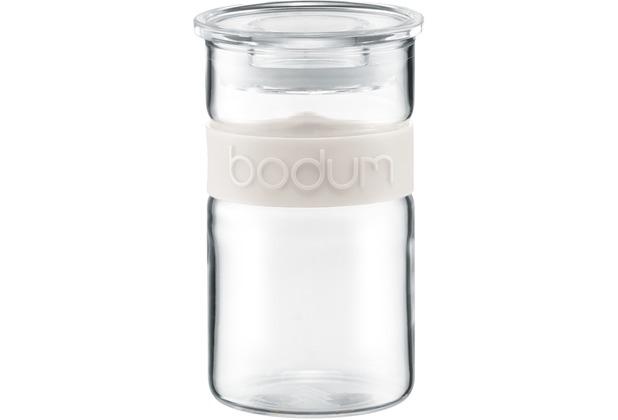 Bodum PRESSO Vorratsglas 0,25 l cremefarben
