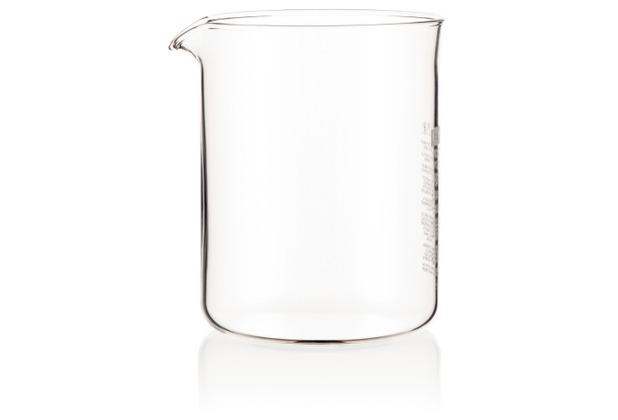 Bodum SPARE BEAKER Ersatzglas, 4 Tassen, 0.5 l, SAN transparent