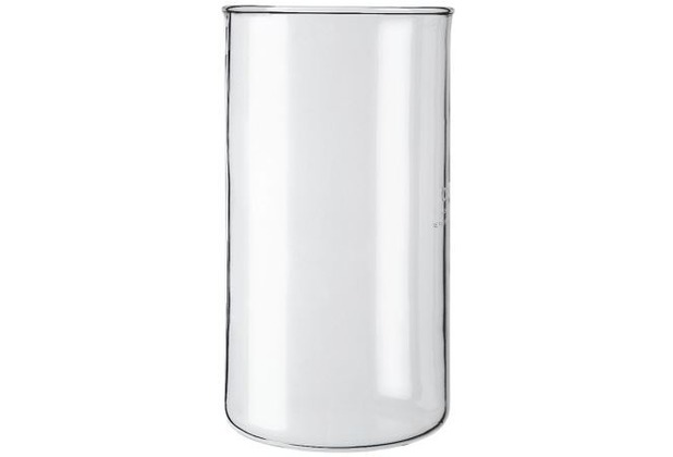 Bodum SPARE BEAKER Ersatzglas ohne Ausguss für Kaffeebereiter 0,35 l 3 Tassen transparent