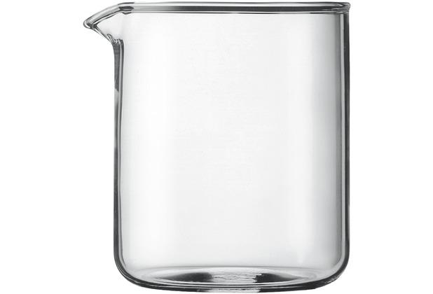Bodum SPARE BEAKER Ersatzglas zu Kaffeebereiter 4 Tassen 0,5 l transparent