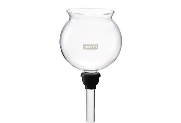 Bodum SPARE BEAKER Glastrichter mit Gummidichtung zu Kaffeebereiter 1208 transparent