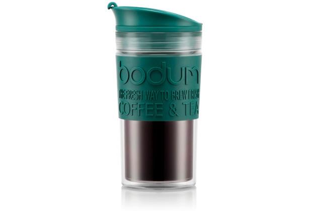 Bodum TRAVEL MUG Tasse, 0,35 Liter, grün/transparent