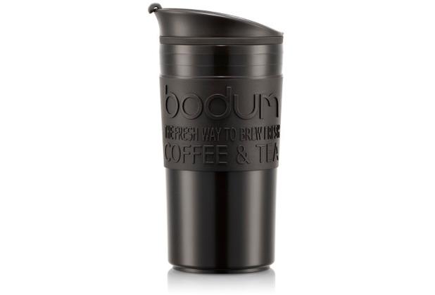 Bodum TRAVEL MUG Tasse, 0,35 Liter, schwarz