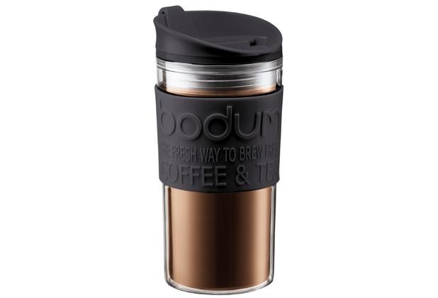 Bodum TRAVEL MUG Travel mug, 0.35 l schwarz