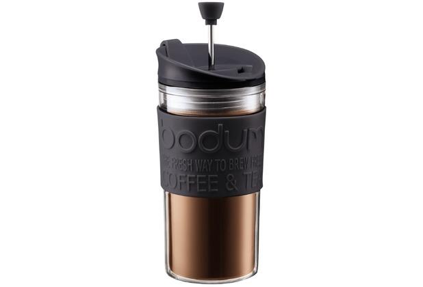 Bodum TRAVEL PRESS Kaffeebereiter, 0.35 l schwarz