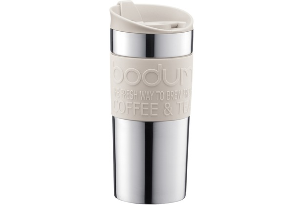 Bodum TRAVEL PRESS Travel press 0,35 l cremefarben