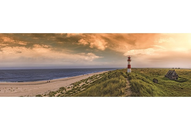 Bönninghoff Kunstdruck gespannt auf Keilrahmen, Leuchtturm am Meer