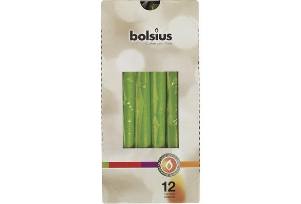 Bolsius Spitzkerzen 245/24 mm bx12, lemon