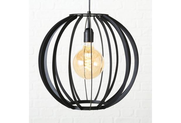 Boltze Deckenlampe Franka H35cm schwarz