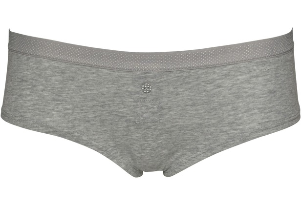 Boobs&Bloomers Short Anny, grey L