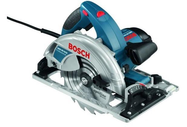 Bosch Handkreissäge GKS 65 GCE, im Karton