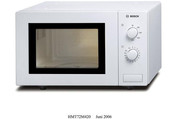 Bosch HMT72M420 Solo-Mikrowelle, weiss