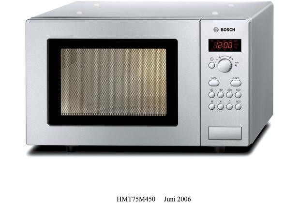 Bosch HMT75M451 Mikrowelle edelstahl, 17 Liter