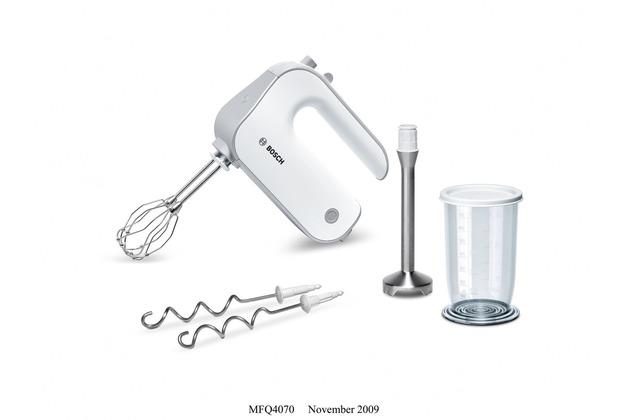 Bosch MFQ4070 Handrührer-Set 500W, weiß/silber