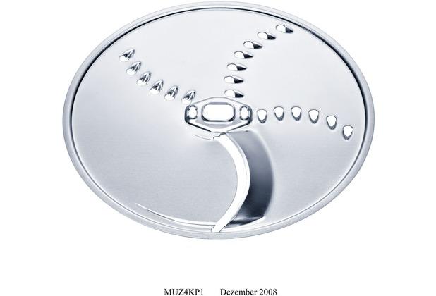 Bosch MUZ45KP1 Schneid-Raspel-Wendescheibe Für Durchlaufschnitzler der MUM4 und MUM5 sowie für die MCM55 und MCM6