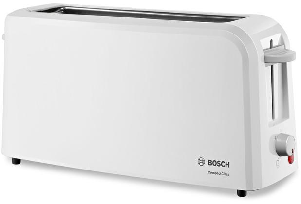 Bosch TAT3A001 Langschlitz-Toaster 980W weiß