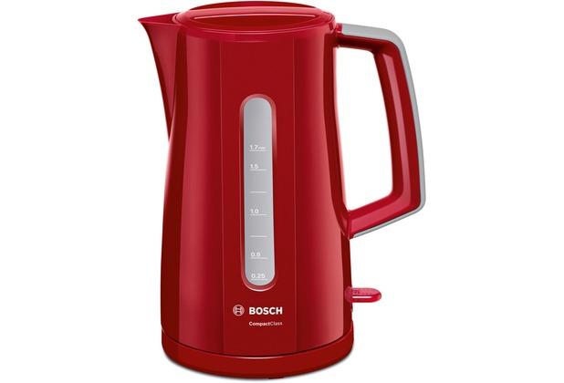 Bosch TWK3A014 Wasserkocher 1,7l rot