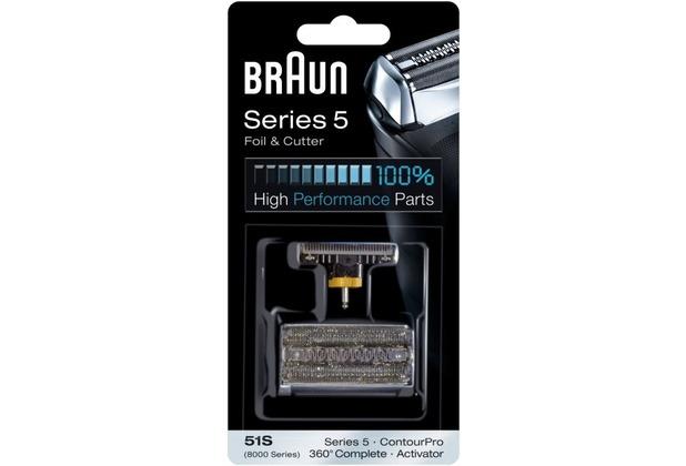 Braun 51S Scherteile Kombipack Series 5/8000