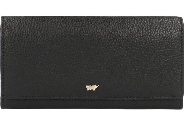 Braun Büffel Asti Geldbörse RFID Leder 19 cm schwarz