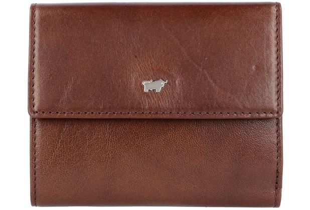 Braun Büffel Basic Secure Geldbörse RFID Leder 12 cm palisandro