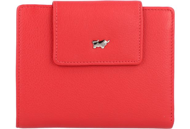 Braun Büffel Miami Geldbörse Leder 12 cm rot