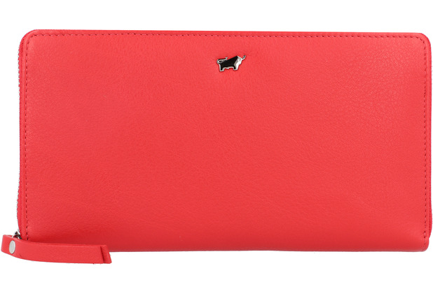 Braun Büffel Miami Geldbörse Leder 19 cm rot