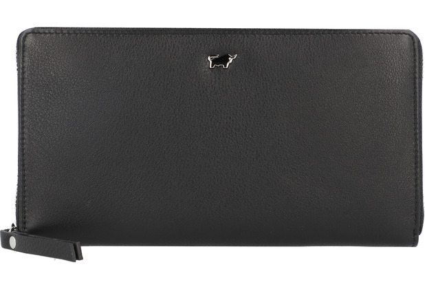 Braun Büffel Miami Geldbörse Leder 19 cm schwarz