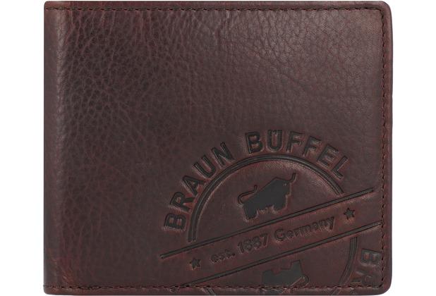 Braun Büffel Parma Geldbörse Leder 11 cm braun