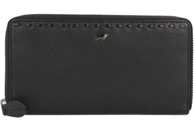 Braun Büffel Soave Geldbörse Leder 19 cm schwarz