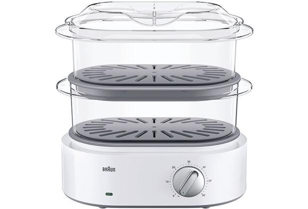 Braun Dampfgarer FS5100 weiß