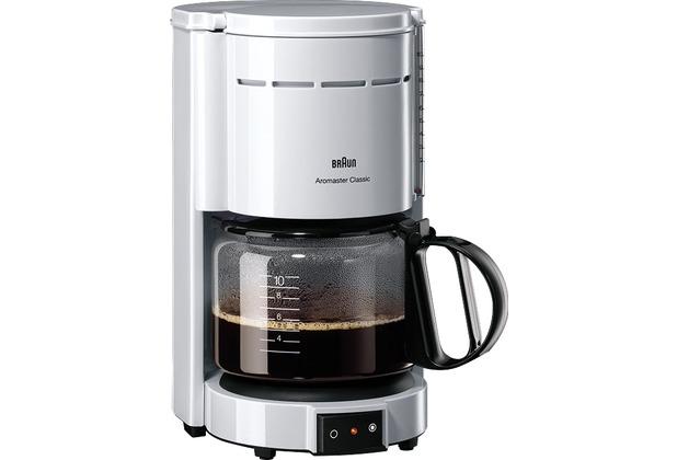Braun Kaffeeautomat Aromaster Klassik KF 47/1, weiß