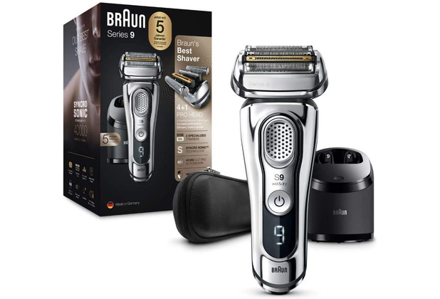 Braun Series 9 9395cc chrome