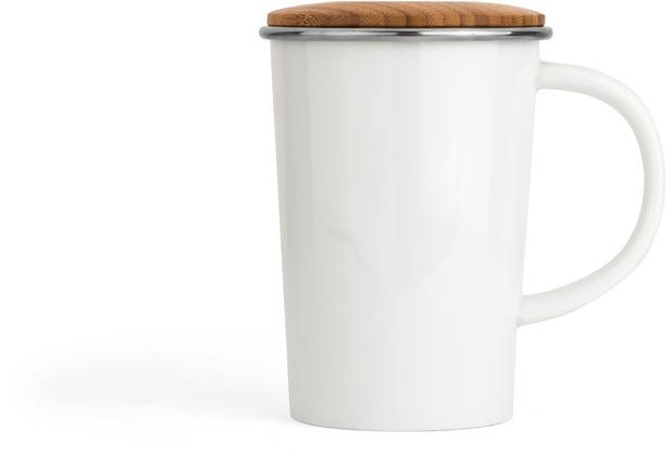 Bredemeijer Tee-Becher Bamboo 400ml, mit Filter und Deckel