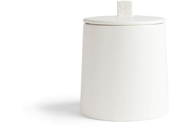 Bredemeijer Vorratsdose Lund, weiß 400 gram