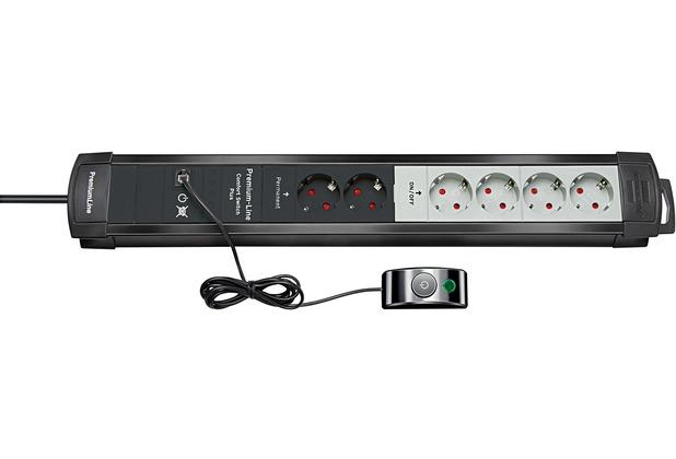 Brennenstuhl Premium-Line Comfort Switch Plus 6-fach CSP24