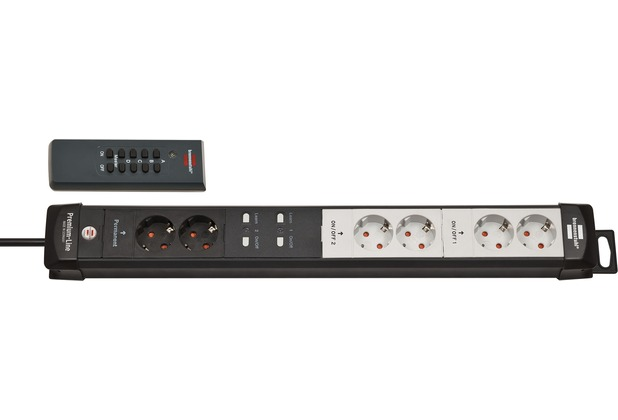 Brennenstuhl Premium-Line Funkschalt-Steckdosenleiste 6-fach