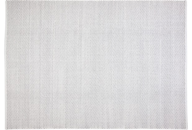 Brigitte Home Handwebteppich Easy Sunset 504 weiss 70 cm x 140 cm