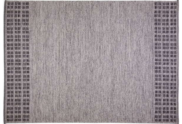 Brigitte Home Handwebteppich Easy Sunset 507 grau 70 cm x 140 cm