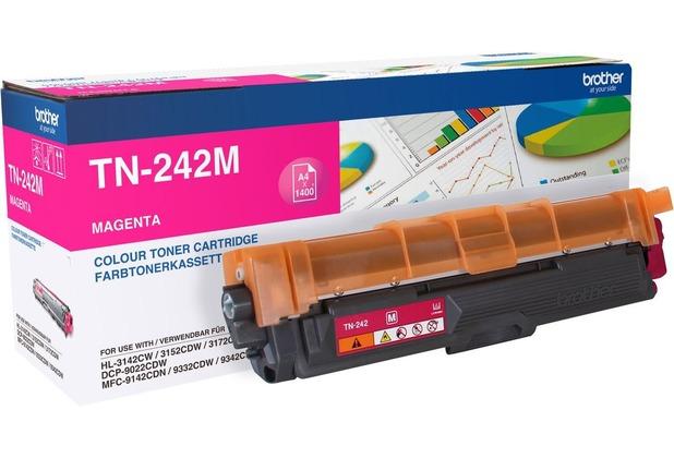 Brother Lasertoner TN-242M magenta 2.200 Seiten