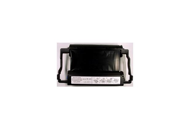 Brother Mehrfachkassette inkl. Thermotransferrolle (PC-201)