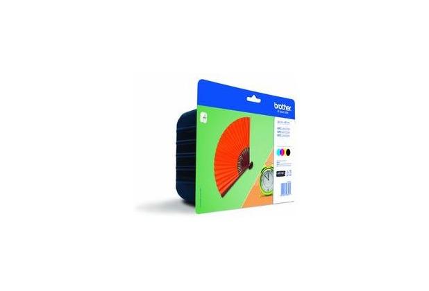 Brother Tinten Multipack LC-129XL Value Pack (4er Set)