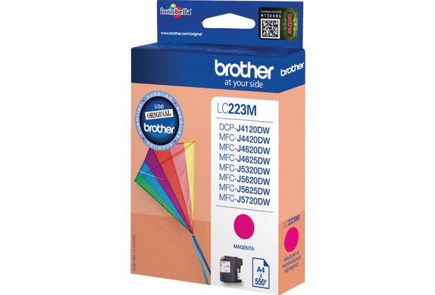 Brother Tintenpatrone LC-223M magenta