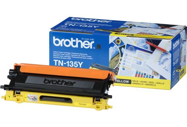 Brother TN-135Y Toner Gelb