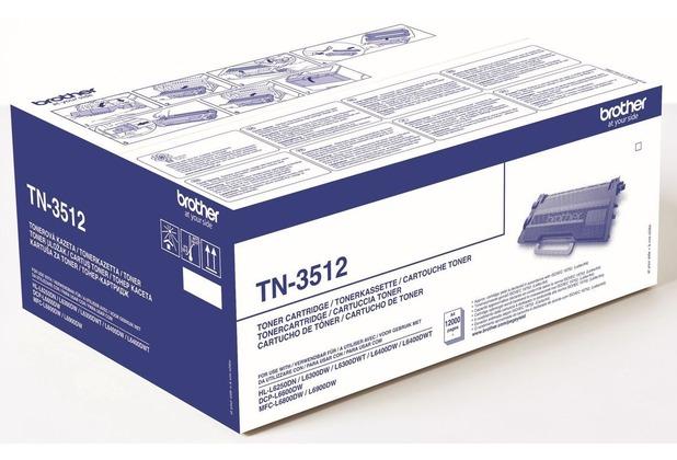 Brother TN3512 Tonerkartusche Schwarz