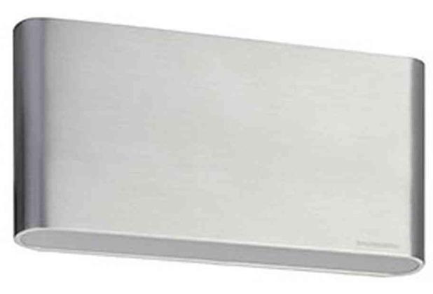 Brumberg LED-Wandleuchte 11W 3100K A alu Konv